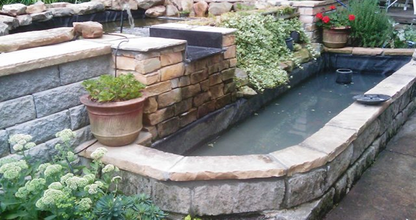 Water Features, Fountains, Ponds