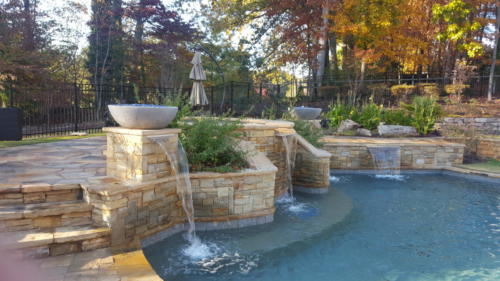 Landscaping transformation